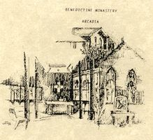 Sketch of Monastery